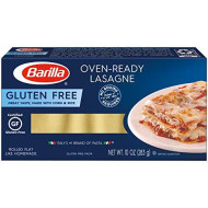 Oven Ready Lasagne Gluten Free 10 Ounce (Pack Of 2) By Barilla