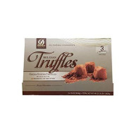 Cocoa Dusted Belgian Chocolate Truffles, 3 Count, 48 Oz