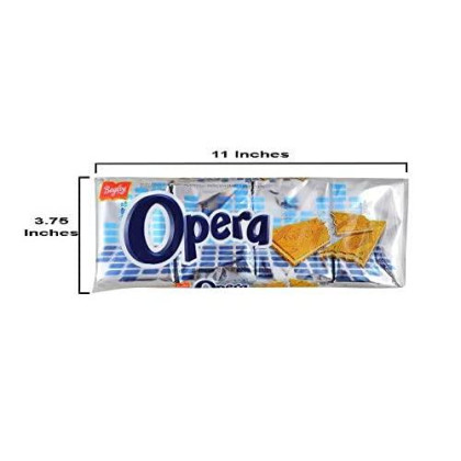 OPERA Obleas Sabor Naranja 4 x 220 grs. / Wafer Orange Flavor with 4 x 55grs. each. - 3 PACK
