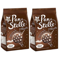 Pan Di Stelle Mulino Bianco Biscuit With Cocoa , Hazelnuts 12.3 Oz (350G) From Italy Pack Of 2