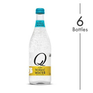 Q Mixers Light Tonic Water, Premium Cocktail Mixer, 500 Ml (6 Bottles)