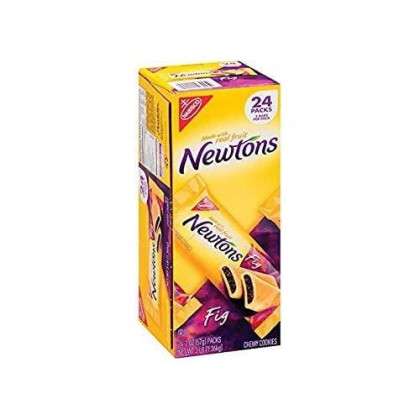 Newtons Full-Size Fig Fruit Chewy Cookies, 24 Count Individual Snack Packs Size