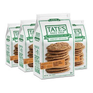 Tate'S Bake Shop Thin & Crispy Cookies, Gluten Free Ginger Zinger, 7 Oz, 4Count