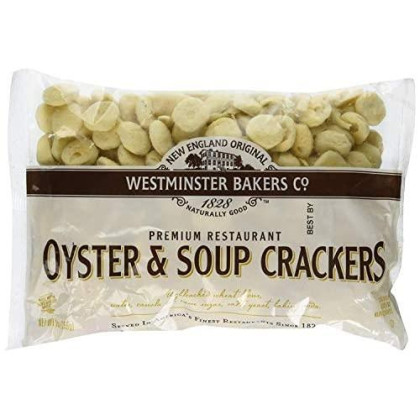 New England Original Westminster Bakeries Oyster And Soup Crackers, 9 Ounce (6 Pack)