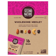 Second Nature Trail Mix, Wholesome Medley, 1.5 Oz, 16-Count
