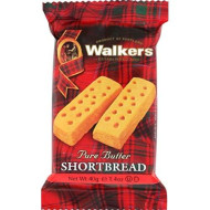 Walkers Shortbread Fingers, 2 Count, Traditional And Simple Pure Butter Shortbread Cookies From The Scottish Highlands, Quality Ingredients, Free From Artificial Flavors (12 Pack)