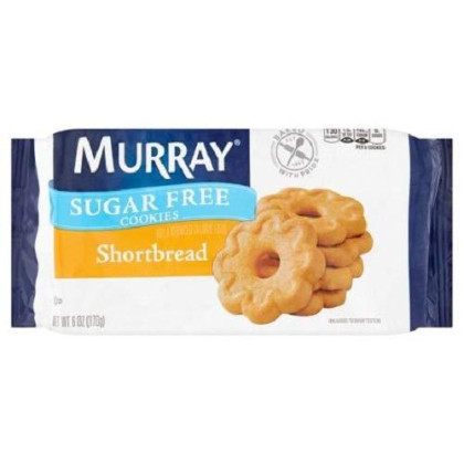 Murray Sugar Free Shortbread Cookies, 7.7 Oz