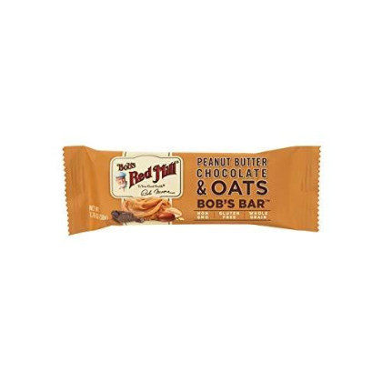 Bob'S Red Mill Peanut Butter Chocolate And Oats Bob'S Bar (Case Of 12)