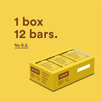 Rxbar, Banana Chocolate Walnut, Protein Bar, 1.83 Ounce (Pack Of 12) Breakfast Bar, High Protein Snack