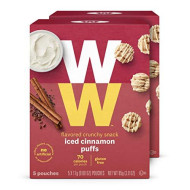 Ww Iced Cinnamon Puffs - Gluten-Free, 2 Smartpoints - 2 Boxes (10 Count Total) - Weight Watchers Reimagined