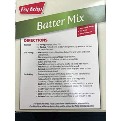All Natural Batter Mix (6 Boxes 12 Oz Each)