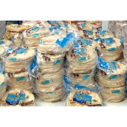 """Lot of Ten ( 10 Bags) -GREEK Papa Pita 7"""" Greek Pita Flat Bread, 12 ct ( each bag) -Great for personal pizzas, wedges for dips and hummus, gyros and sandwiches (Limited Quantity Available)"""