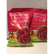 Trader Joe'S Rolled Corn Tortilla Chips - Chili & Lime Flavored - Gluten Free - Net Wt. 9Oz (255G) - Pack Of 2 Bags