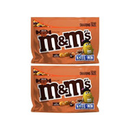 M&M's (Pack of 2) Chocolate Candy Flavor Vote English Toffee Peanut Sharing Size, 9.6 Ounce Bag