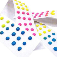 CrazyOutlet Candy Buttons Strips Retro Candy, One Pound Pack, 60 Count