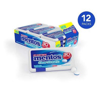 Mentos Clean Breath Hard Mints Sugar Free Candy, Peppermint, Valentines Day Gifts, Bulk