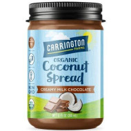 Organic Coconut Spread with Creamy Milk Chocolate, Net Wt 12 oz, Spread it on toast and baked goods