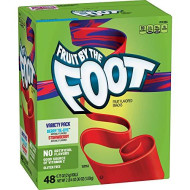 Fruit By The Foot, Variety Pack (0.75 Oz, 48 Pk.) Berry Tie-Dye, Strawberry