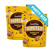 Thinsters Cookies, Chocolate Chip, 16 Oz (Pack Of 2), Non-Gmo, Crunchy Cookies