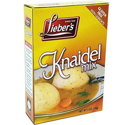 Matzo Ball Knaidel Mix, Gluten Free, Kosher For Passover, 5 Ounce Box (3-Pack)