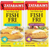 Zatarain'S Fish Fry Mix Variety 2 Pack - Includes -1 Box Seasoned Breading Mix, 12 Oz, And 1 Box Crispy Southern Breading Mix, 12 Oz