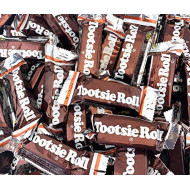 Sunny Island Tootsie Roll Candy Bars Snack Size, Kosher Candy, 2 Pounds Bulk