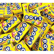 Sunny Island Dots Candy Mini Box Fruit Flavored, Kosher Candy by Tootsie, Gluten- Free, 50 Count Pack
