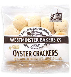 Westminster Bakers All Natural Crackers, Oyster, 0.5 Ounce (Pack Of 75)
