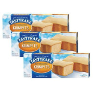 Tastykake Butterscotch Or Jelly Krimpets Family Size 12 Pack- A Philadelphia Baking Institution (Butterscotch Krimpets, 3 Pack)