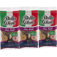 Stella D'oro Lady Stella Cookies 10 oz. Bag- Stella D'oro Italian Touch Cookie Assortment (3 Bags)