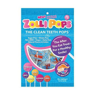 Zollipops The Clean Teeth Pops, Anti Cavity Lollipops, Delicious Assorted Flavors, 25 Count (2 Pack(25 Count))