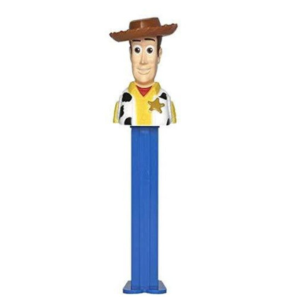 Toy Story 4 Woody and Buzz Lightyear 2019 Pez Dispensers - 2 Character Bundle in Cello Bags with 2 Candy Rolls