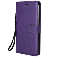 Lg Stylo 3 / Lg Stylo3 Plus/Stylus 3 Case, Lomogo Leather Wallet Case With Kickstand Card Holder Shockproof Flip Case Cover For Lg Stylo 3 Plus - Loktu23193 Purple