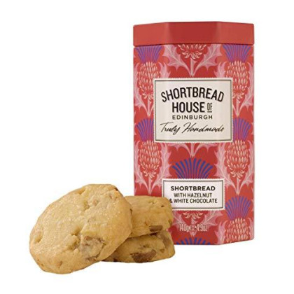 SHORTBREAD HOUSE Shortbread With White Chocolate, 140 GR