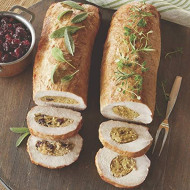 Traditional Stuffed Pork Loin Roast, 2 1/4 To 2 1/2 Lb. From The Swiss Colony