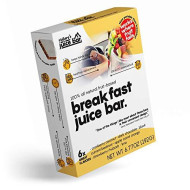 Nature'S Breakfast Juice Bar | Whole As Fruit Convenient As Bar | Organic Low Calorie 100-170Kcal Soft Fruit Snack In Wafer | Rich In Potassium, Calcium & Iron To Power Your Day Like Breakfast 6-Pack
