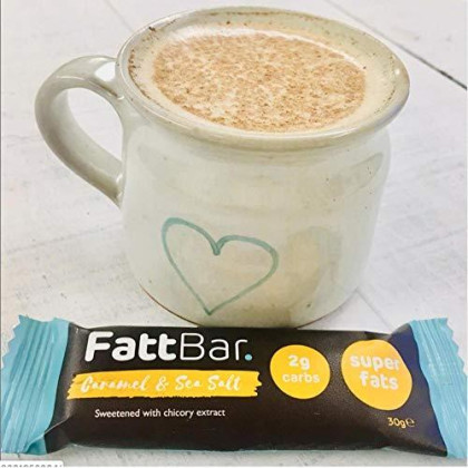 Fattbar Keto Super Fats Bar (Variety, 5-Pack) | Natural And Delicious Keto Snacks | Low Net Carb, High Fiber, Low Sugar, Keto, Gluten Free, Sweetener Free, Vegan, Non-Gmo
