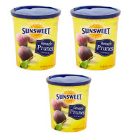 Sunsweet Amazin Pitted Prunes, 16 Oz - Pack Of 3