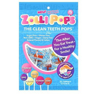 Zollipops The Clean Teeth Pops, Anti Cavity Lollipops, Delicious Assorted Flavors, 25 Count (2 Packs(25 Count))