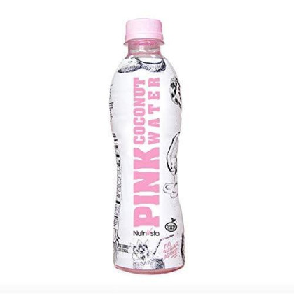 Nutrivsta Pink Coconut Water_(340Ml) 6 Pack, Exclusive And Premium Coconut Water. Rehydrates & 100% Natural Coconut Water Comes From Young Thai Ham Hom Coconuts.