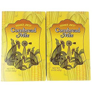 Trader Joe's Cornbread Mix 15 oz (Pack of 2)