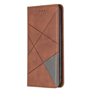 Lomogo Iphone 7 Plus/Iphone 8 Plus Case Leather Wallet Case With Kickstand Card Holder Shockproof Flip Case Cover For Iphone 7 Plus / 8 Plus - Lobfe160021 Brown