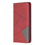 Lomogo Iphone 7 Plus/Iphone 8 Plus Case Leather Wallet Case With Kickstand Card Holder Shockproof Flip Case Cover For Iphone 7 Plus / 8 Plus - Lobfe160022 Red