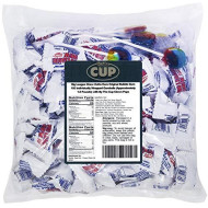 Big League Chew Outta Here Original Bubble Gum 100 Individually Wrapped Gumballs (Approximately 1.5 Pounds) with By The Cup Clown Pops