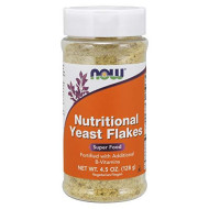 Now Foods Nutritional Yeast Flakes, 4.5 Ounce (Pack Of 1)