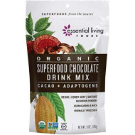 Superfood Chocoloate Drink Mix - Essential Living Foods - 6Oz Pouch