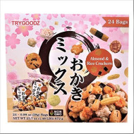 TryGoodz Almond & Rice Crackers 0.99 oz Snack Bags - 24 Packs