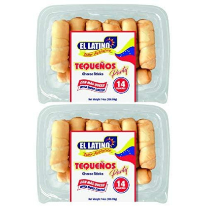 El Latino Tequenos, Prefried And Ready To Eat. (Pack Of 28)