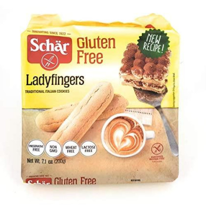Schar Naturally Gluten-Free Wheat-Free Ladyfingers Pack Of 6
