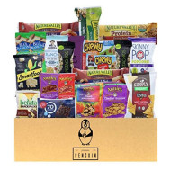 Low Calorie Healthy Snacks Care Package - 20 Count Variety Snack Sampler! An Assortment Of Sweet And Savory Granola Bars, Organic Fruit Snacks, Nuts, Popcorn, Rice Snacks, And More!